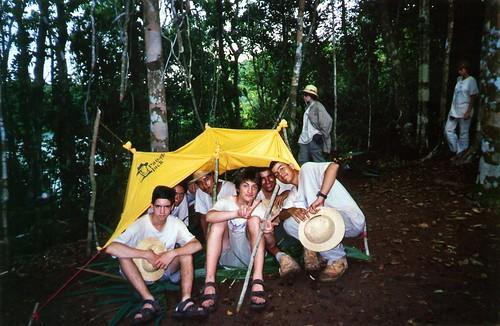 048 - Isla Zorra. Taller 'Iniciación a la supervivencia en la selva'