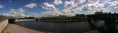 Panorama, Bettina-von-Arnim-Ufer (lampenlee) Tags: panorama berlin hauptbahnhof bettinavonarnimufer