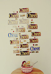 day 45/365 : cheer up. (sharonswonderland) Tags: food happy photography colorful mine cereal bowl honey cheer cheerios day45 lively 365days sharonswonderland