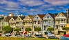 Painted Ladies Painted (HavCanon.WillTravel) Tags: canon san francisco 7d hdr victorianhouses fdrtools photoclubwinner