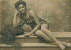 Beatrice Kerr posing for a photograph