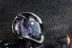 Ride To Life (Evgeniy Davydov) Tags: road shadow helmet moto motorcycle phantom asphalt vt750 blackspirit ridetolive
