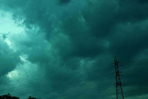 Electric sky - 27 juillet 2012