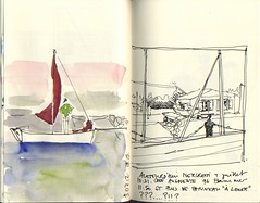 36 (julietteplisson) Tags: sketch aquarelle bateaux stillman birne croquis stillmanbirngammaseries