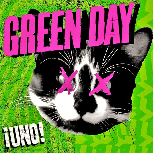 Green Day Uno Background
