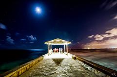 Go into the Light! (NKK Photography) Tags: longexposure lightpainting water night hawaii nikon waikiki oahu moonlit honolulu streaks softwater d7000