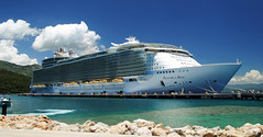 Royal Caribbean Allure of the Seas (Infinity & Beyond Photography) Tags: cruise boat haiti ship royal caribbean seas labadee allure liner