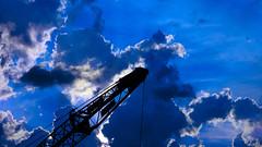 DSC_1337 (JPHCommercial) Tags: america merica crane construction work build great sky art steel