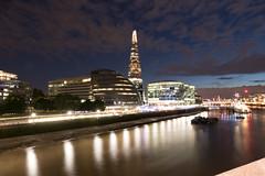 More London / London Bridge City at Night (gbuckingham89) Tags: london londonbridgecity londonnight longexposure morelondon night nightlondon nightphotography riverthames theshard england unitedkingdom gb