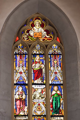 I am the Alpha and the Omega (quinet) Tags: 2014 allemagne alpha deutschland germany glasmalerei omega rothenburg stainedglass vitrail