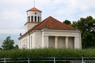 Europa, Deutschland, Brandenburg, Landkreis Märkisch-Oderland, Neuhardenberg, Schinkelkirche