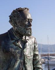 Julio Verne (Rober Prcy) Tags: cies island paradise summer pentax 50mm verne vigo monument jules