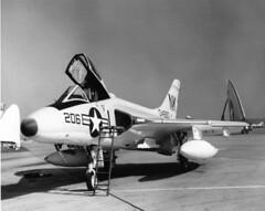 SDASM Aircraft Image (San Diego Air & Space Museum Archives) Tags: buno134880 134880 nasmiramar miramarnas aviation aircraft airplane navalaviation unitedstatesnavy usnavy usn douglasaircraftcompany douglasaircraft dac douglas douglasf4dskyray douglasf4d f4dskyray f4d douglasskyray skyray douglasf6skyray douglasf6 f6skyray f6 prattandwhitney prattwhitney pw prattwhitneyj57 pwj57 j57 ford