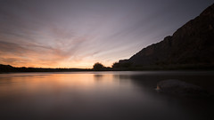 Early Morning River (DSCF8985) (Denkrahm) Tags: texas bigbend santaelenacanyon morning longexposure fujixpro1 river riogrande