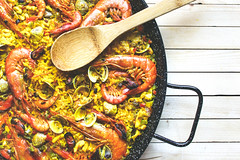 Paella (ikrents) Tags: cultures food paella seafood spain drink spanish mussel meal prepared shellfish shrimp people prawn pan cuisine rice yellow dinner cooking no shot chicken studio vegetable staple meat lemon pepper bird green life saffron squid still outdoors sea preparing tiger readytoeat spice state white homemade pink bivalve mollusk table travel backgrounds
