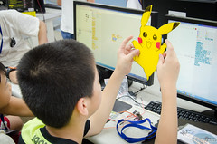 DSC_0765 (roger528852momo) Tags: 2016           little staff person explore summer camp hokuzine ever worker china youth corps ying qiao elementary school arduino robot food processing workshop taipei taiwan roger huang roger528852momo
