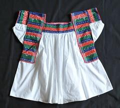Nahua Blouse Puebla Mexico (Teyacapan) Tags: mexico mexican blouses nahua tehuacan tlacoxcalco bordados embroidered blusas clothing