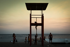 boys will be boys (Kostas Katsouris) Tags: fuji xt10 summer greece islands hot water sea sand sun vacation