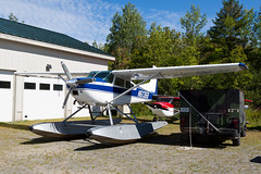 Private (Maine Warden Service) Cessna A185F Skywagon N63168 (jbp274) Tags: greenville greenvilleseaplaneflyin 52b flyin mooseheadlake airplanes seaplane floatplane cessna c185 skywagon