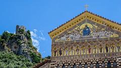 Cattedrale di Sant'Andres (Amalfi) (b.kuehweidner) Tags: outdoor church kirche burg ruine sony dschx400v gemlde wandgemlde