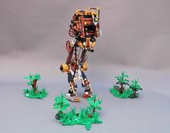 Steamwars - Steampunk AT-ST (2) (adde51) Tags: adde51 lego moc steampunk steamwars atst starwars star wars st walker foitsop