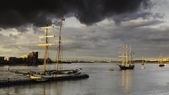 _MG_9355 J.R.TOLKIEN &THALASSA (lee.45) Tags: unitedkingdom sailroyalgreenwich tallships thames historicships historic riverthames river sails jrtolkien thalassa