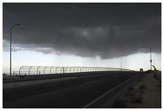 Fresno_0320 (Thomas Willard) Tags: california fresno cloud rain squall bridge weather