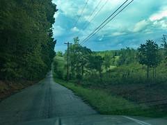 The Road That Leads Home (BKHagar *Kim*) Tags: bkhagar road way journey home limestonecounty al alabama sky clouds powerlines landscape trees hill grass rural outdoor