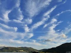 Cirrus cloud over Fort William..x (lisa@lethen) Tags: fort william scotland weather cloud cirrus town sky