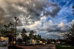 Storm Clouds At Dusk (RMIngramPhotos.com) Tags: stormcloudsatdusk threatningclouds uneventfulstormclouds sundog sundogs mocksuns phantomsuns scientificnameparheliaplural parhelionsingular natue weatherphenoms landscapephotography nikonphotography