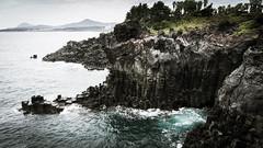 Jusangjeolli Cliffs - Jeju Island (skeap1) Tags: jusangjeolli cliffs jeju island south korea coreedusud rock pillars coast jungmun