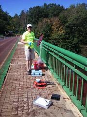 PFC Sampling (Delaware River Basin Commission (DRBC)) Tags: drbc delawareriver delawareriverbasincommission sampling pfcs waterquality toxicity