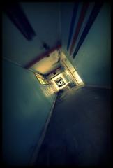 Ghost town (Kriegaffe 9) Tags: shadow dark hall decay urbandecay ghost corridor eerie spooky abandonment nocton rafnocton