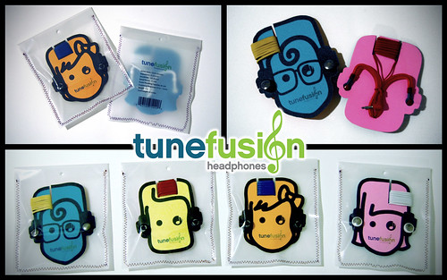 Tune Fusion Headphones Package Design