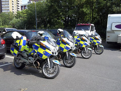 BMW RT1200 Police Motorcycles