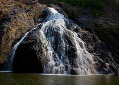 Dudhsagar Waterfalls, India (Gary Palfreyman Photography) Tags: india dudhsagarwaterfalls