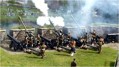 21 Gun Salute9 (lairig4) Tags: castle army scotland stirling military salute historic artillery cannons otc queensbirthday 21gunsalute cityofstirling