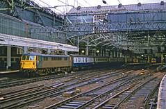 86321 at Glasgow Central HR scan (Deepgreen2009) Tags: station electric train scotland railway ac 86 intercity terminus glasgowcentral