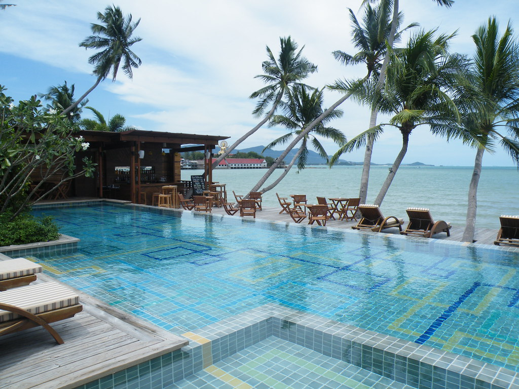 Pool at Tango Luxe on Plai Laem, Ko Samui, Thailand