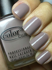 high society, color club (nails@mands) Tags: brown grey nagellack polish nailpolish cinza highsociety marrom lacquer vernis esmalte verniz colorclub