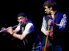 Ian Anderson & Ryan O'Donnell (mothclark62) Tags: music concert live gig tull jethrotull iananderson ryanodonnell thickasabrick stcleve