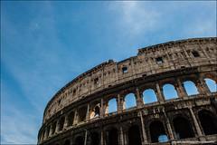 Colosseum, Rome (Stuart-Saunders) Tags: sky italy rome nikon roman colosseum 2470mm d700