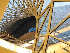 "Frankfurt / Main (Germany): Inside the shopping mall ""MyZeil"" (wwwuppertal) Tags: germany deutschland hessen frankfurt main shoppingmall architektur zeil massimilianofuksas contemporaryarchitecture einka"