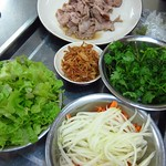 "Pho Cuon Ingredients <a style=""margin-left:10px; font-size:0.8em;"" href=""http://www.flickr.com/photos/14315427@N00/7268224958/"" target=""_blank"">@flickr</a>"