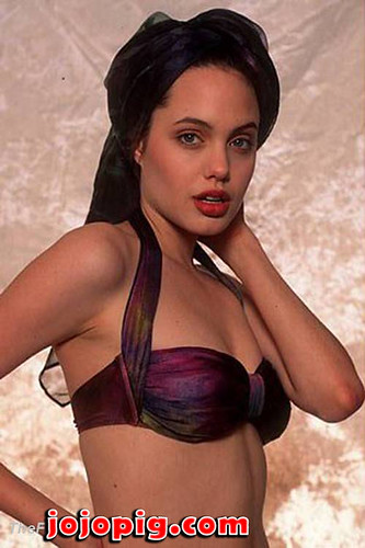 Angelina jolie bikini picks