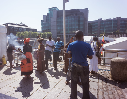 Africa Day Celebration At George's Quay In Dublin