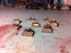 Giant Rats (benjibot) Tags: warhammer skaven