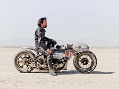 Shinya Kimura with his self-built Motorcycle (explored) (Johannes Huwe) Tags: auto california old lake car race speed utah desert salt may dry racing hasselblad explore flats motorbike event saltlake land motorcycle hotrod medium format speedy cinematic hdr bonneville racer 2012 kimura kalifornien elmirage motorrad shinya hodrod explored landspeed