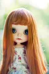 sweet & sad brier rose (libbalu) Tags: doll plastic blythe custom takara dlg rbl brierrose chaoskatencosmos