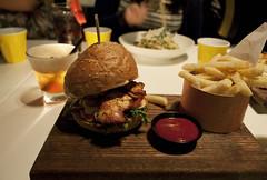 Blackbird, Sydney, AU. (Keighlea_Martin) Tags: food chicken digital burger sydney may australia blackbird 2012
